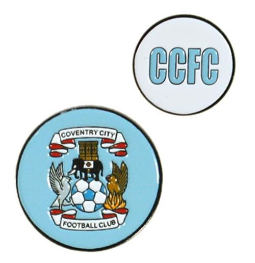 Marcador de pelotas de golf Coventry City