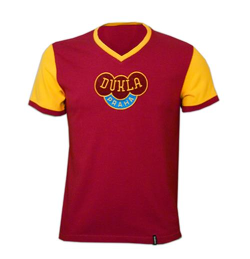 Camiseta retro Dukla Prague