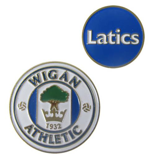 Marcador de pelotas de golf Wigan Athletic