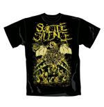 Camiseta Suicide Silence Ruins. Producto oficial Emi Music
