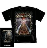 Camiseta Megadeth End Game. Producto oficial Emi Music