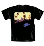 Camiseta The Eagles Hotel California. Producto oficial Emi Music