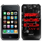 Cover iPhone 3G/3GS Jay Z - Red Logo. Producto oficial Emi Music