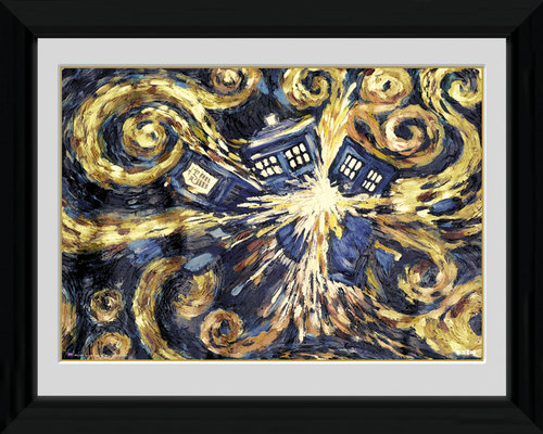 Póster Doctor Who Exploding Tardis