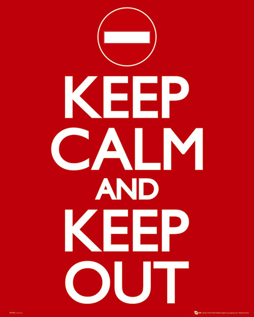 Póster Keep Calm and Carry On 62777