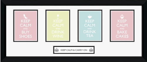 Póster Keep Calm and Carry On 62782