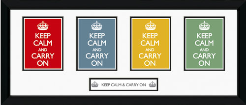 Póster Keep Calm and Carry On 62792