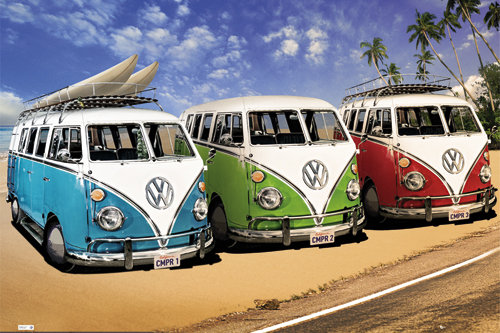 Maxi Póster VW Californian Camper Campers