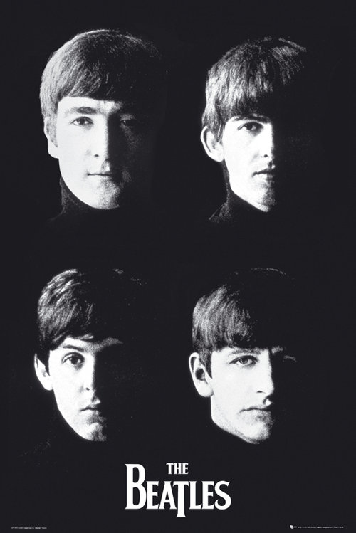 Póster Beatles With The