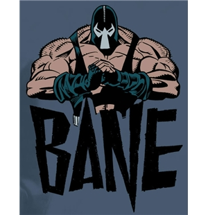 Camiseta BATMAN BANE. Camiseta oficial Emi Music y The Dark Knight Rises