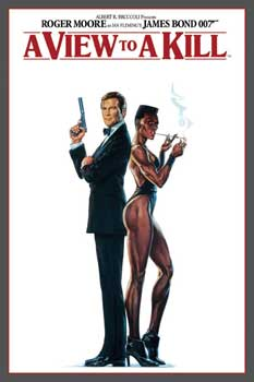 Póster James Bond - 007 A View To A Kill