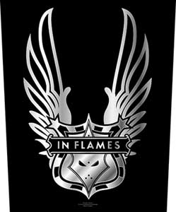 Parche In Flames Winged Logo