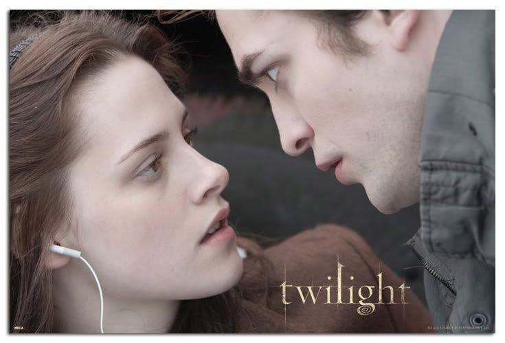 Póster Twilight Bella & Edward