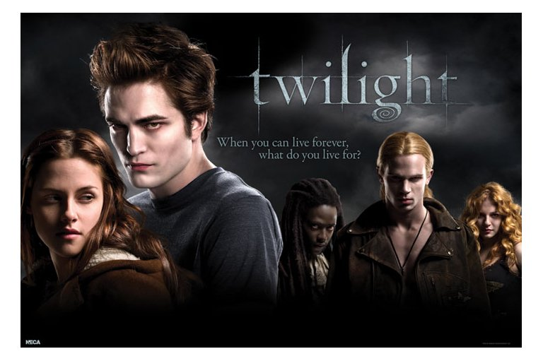 Póster Twilight Cast