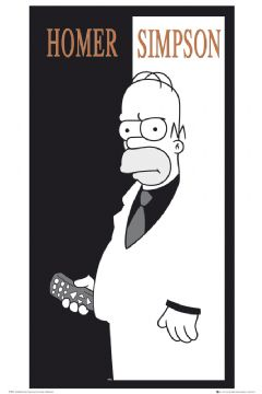 Póster Los Simpsons Scarface