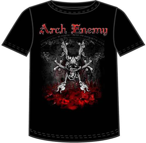Camiseta Arch Enemy - Rise Of The Tyrant