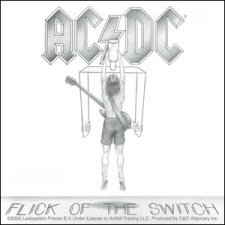 Pegatina AC/DC - Flick Of The Switch