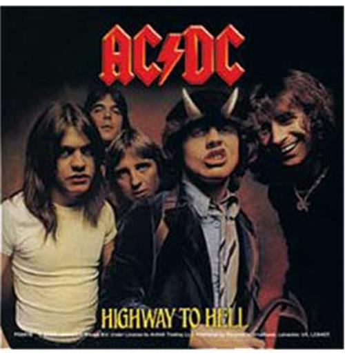 Pegatina AC/DC - Highway To Hell