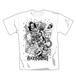 Camiseta Alexisonfire Fight. Producto oficial Emi Music