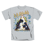 Camiseta Def Leppard Hysteria. Producto oficial Emi Music