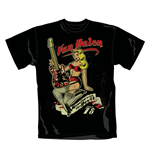 Camiseta Van Halen Pin Up Guitar. Producto oficial Emi Music