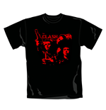 Camiseta The Clash Band Gun. Producto oficial Emi Music