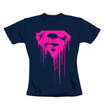 Camiseta Superman Navy. Producto oficial Emi Music