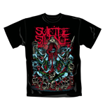 Camiseta Suicide Silence Tribal. Producto oficial Emi Music