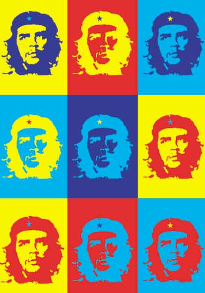 Bandera Che Guevara - Pop Art