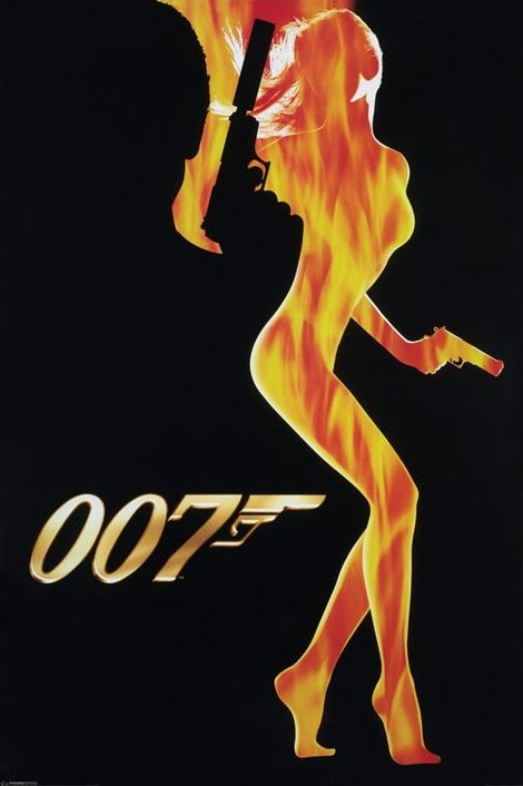 Póster James Bond - 007 70014