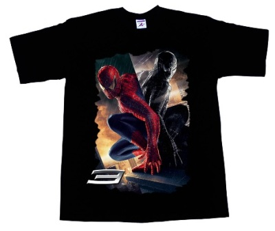 Camiseta Spiderman 3 - Reflex