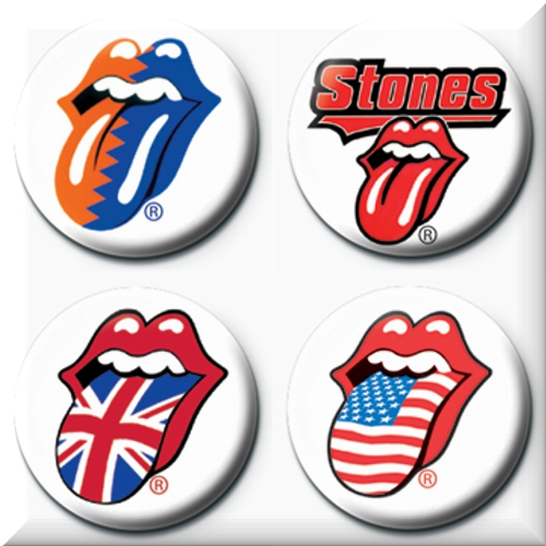 Set chapitas The Rolling Stones