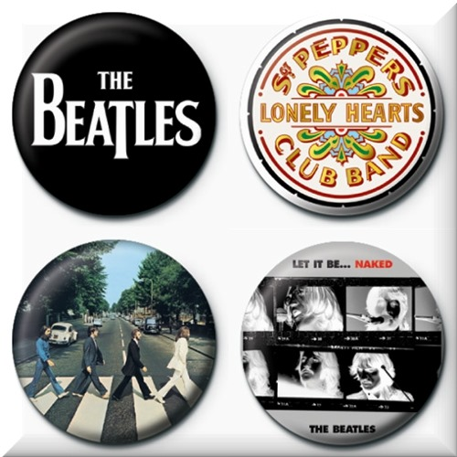 Set Chapitas Beatles