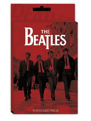 Postal Beatles - Red