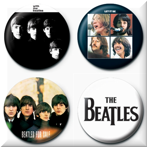 Chapitas The Beatles