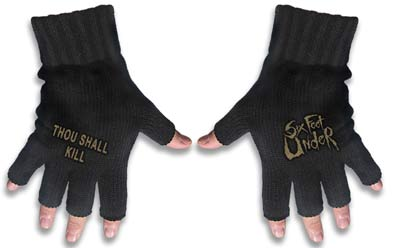 Guantes Six Feet Under
