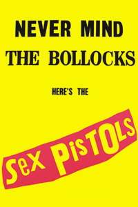 Imán Sex Pistols - Never Mind The Bollocks
