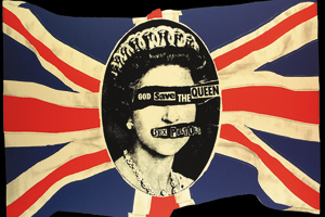 Imán Sex Pistols - God Save The Queen
