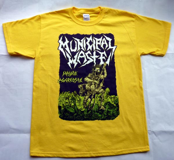 Camiseta Municipal Waste 70139