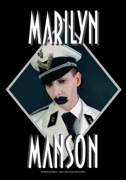 Bandera Marilyn Manson - Officer