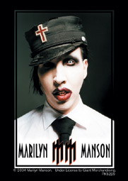 Llavero Marilyn Manson Uniform