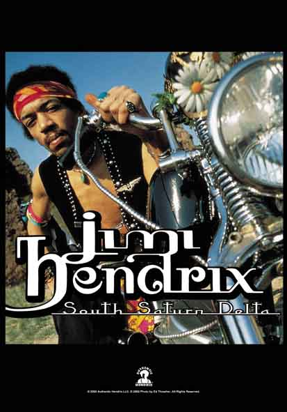 Bandera Jimi Hendrix - South Saturn Delta