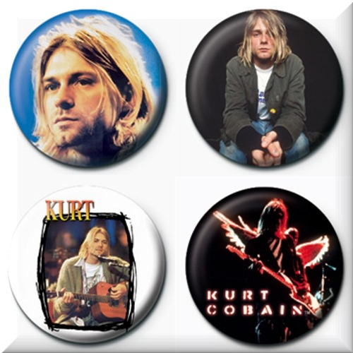 Pin Kurt Cobain 70200