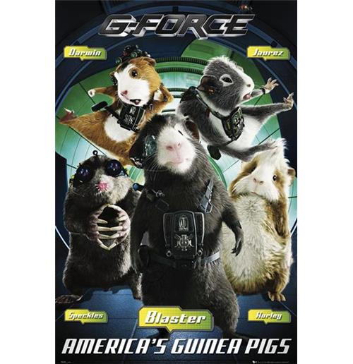 Póster G-Force 70220