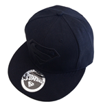 Superman Gorra Béisbol Black Logo
