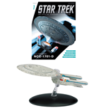 Star Trek Official Starships Collection Revista con Modelo #01 USS Enterprise NCC-1701-D