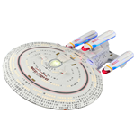 Star Trek TNG Réplica Nave Enterprise NCC-1701-D All Good Things 40 cm