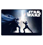 Star Wars Alfombra Black Fight 100 x 160 cm