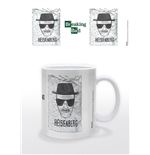 Breaking Bad Taza Heisenberg Wanted