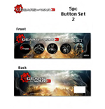Gears of War 3 Pack de 5 Chapas Box Art (5)